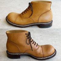 follow フォロー・ナチュラルブラウン/おでこ靴職人ヒラキヒミ。