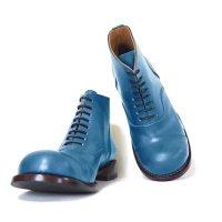 「follow フォロー」トイアーノ・グリーン/おでこ靴職人ヒラキヒミ。