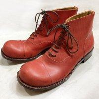 「follow フォロー」トイアーノ・レッド/おでこ靴職人ヒラキヒミ。