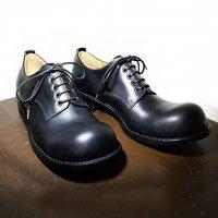 【オーダー受付休止期間です】「Charlie チャーリー」クロムエクセルレザー・ブラック/おでこ靴職人ヒラキヒミ。