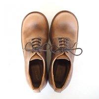 【オーダー受付を終了しました】「Charlie チャーリー」クロムエクセルレザー・ナチュラル/おでこ靴職人ヒラキヒミ。