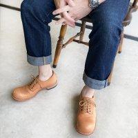 「Charlie チャーリー」トイアーノ・キャメル/おでこ靴職人ヒラキヒミ。
