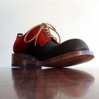 【終了しました】「Charlie チャーリー」トイアーノコンビ・ブラック×レッド/おでこ靴職人ヒラキヒミ。