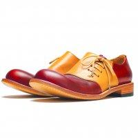 「dance dance dance」トイアーノ・レッド/おでこ靴職人ヒラキヒミ。