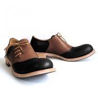 【終了しました】「dance dance dance」トイアーノ・ブラウン×ブラック/おでこ靴職人ヒラキヒミ。