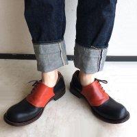 【終了しました】「dance dance dance」トイアーノ・ブラック×レッド/おでこ靴職人ヒラキヒミ。