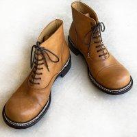 ソールをノルウィージャンウェルト製法にしてほしい/おでこ靴職人ヒラキヒミ。
