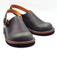 【数量限定・即納】「blues ブルース」クロムエクセル・ネイビー おでこ靴職人が作ったサボサンダル/ヒラキヒミ。