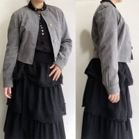 1990's Italian Summer Wool Short Jacket by GIE FEE FEE