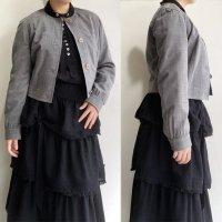 1990's Italian Summer Wool Short Jacket by GIE FEE FEE