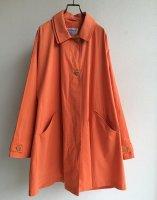 1990's Italian Dolman Sleeve Oversized Jacket Light Orange