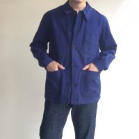 1960's French Work Coverall Dark Blue