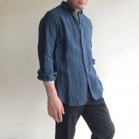 DAリネンイージーシャツ スウェディッシュブルー DA linen Easy Shirt SwedishBlue/DjangoAtour