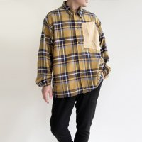 【2020年秋冬新作】INTERVAL JACKET Musterd Check/COMFY OUTDOOR GARMENT