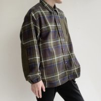 【2020年秋冬新作】INTERVAL JACKET Khaki Check/COMFY OUTDOOR GARMENT