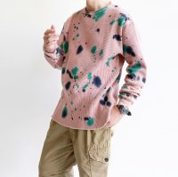 【PRICE DOWN】TRIPPER THERMAL TEE TIEDIE PINK/STRANGE TRIP