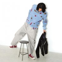【PRICE DOWN】WIDE ROCKER PANTS FADE GREY/STRANGE TRIP