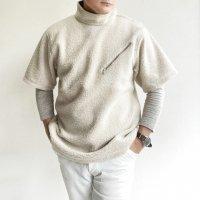 Cashmere Fleece P/O Tee LIGHT BEIGE カシミアフリースプルオーバーTシャツ ライトベージュ/KAPTAIN SUNSHINE