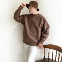 【2020年秋冬新作】Strech Sweat Raglan Pullover FADE BROWN/KAPTAIN SUNSHINE<img class='new_mark_img2' src='https://img.shop-pro.jp/img/new/icons3.gif' style='border:none;display:inline;margin:0px;padding:0px;width:auto;' />