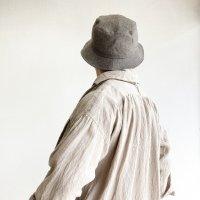 Bucket Hat PIN PLAID (ベージュ系チェック)/KAPTAIN SUNSHINE