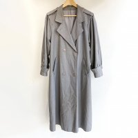 1980's British Rare Fabric Trench Coat by Dannimac