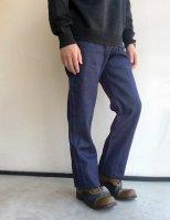 1960年代イギリス刑務所の囚人用デニムパンツ 1960's Dead Stock British Prisoner's Denim Trousers W/34 Indigo<img class='new_mark_img2' src='https://img.shop-pro.jp/img/new/icons3.gif' style='border:none;display:inline;margin:0px;padding:0px;width:auto;' />