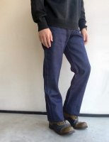 1960年代イギリス刑務所の囚人用デニムパンツ 1960's Dead Stock British Prisoner's Denim Trousers W/34 Indigo