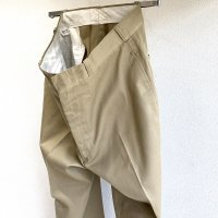 1970's U.S Military Chino Pants Beige