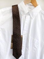 【2020年9月11日発売】Silk Tie Brown Star/Workers<img class='new_mark_img2' src='https://img.shop-pro.jp/img/new/icons3.gif' style='border:none;display:inline;margin:0px;padding:0px;width:auto;' />