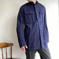 1950年代イギリス軍エンジニアワークジャケット 1950's British Military Engineer Work Jacket Blue<img class='new_mark_img2' src='https://img.shop-pro.jp/img/new/icons3.gif' style='border:none;display:inline;margin:0px;padding:0px;width:auto;' />