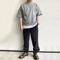 【2021年3月新作】FWP Trousers Black Linen/Workers<img class='new_mark_img2' src='https://img.shop-pro.jp/img/new/icons3.gif' style='border:none;display:inline;margin:0px;padding:0px;width:auto;' />