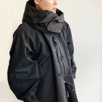 【2021年新作】Mill.Coat BLACK/KAPTAIN SUNSHINE
