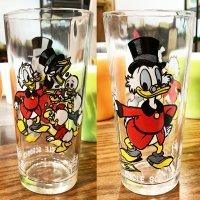 「スクルージおじさん」1977年〜1978年製 ペプシタンブラー Happy Birthday Mickey 50 Years of Magic/ブロックウェイグラスカンパニー製造