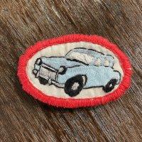 刺繍ブローチ Car