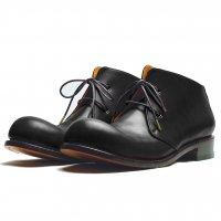 Coppe コッペ・ブラック/おでこ靴職人ヒラキヒミ。