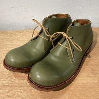 Coppe コッペ・グリーン/おでこ靴職人ヒラキヒミ。