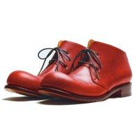 Coppe コッペ・レッド/おでこ靴職人ヒラキヒミ。