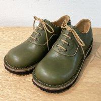 Cobato こばと・グリーン/おでこ靴職人ヒラキヒミ。