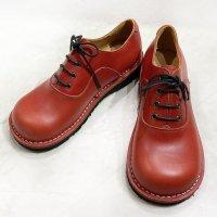 Cobato こばと・レッド/おでこ靴職人ヒラキヒミ。