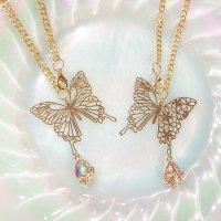 蝶々のバッグチャーム