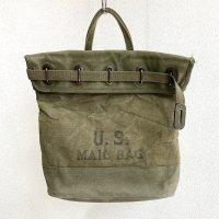 1940-1950's U.S Postman Duck Tote Bag Khaki