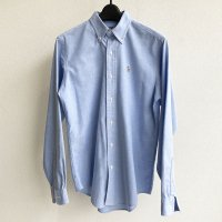 1980-1990's Oxford Button-down Shirt by POLO RALPH LAUREN Made in USA Saxe Blue<img class='new_mark_img2' src='https://img.shop-pro.jp/img/new/icons3.gif' style='border:none;display:inline;margin:0px;padding:0px;width:auto;' />