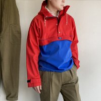 1970's U.S Outdoor Smock Blouson by CB Sports Red × Blue<img class='new_mark_img2' src='https://img.shop-pro.jp/img/new/icons3.gif' style='border:none;display:inline;margin:0px;padding:0px;width:auto;' />