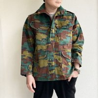 1970's Belgian Military Parachute Blouson Camouflage<img class='new_mark_img2' src='https://img.shop-pro.jp/img/new/icons3.gif' style='border:none;display:inline;margin:0px;padding:0px;width:auto;' />