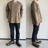 【2021年3月新作】classic volendam no-collar jacket d.beige/DjangoAtour<img class='new_mark_img2' src='https://img.shop-pro.jp/img/new/icons3.gif' style='border:none;display:inline;margin:0px;padding:0px;width:auto;' />