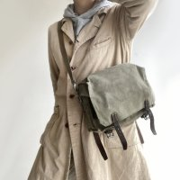 1950's Swiss army tools Shoulder bag Sage green