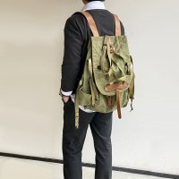 Romanian army mountain backpack Khaki<img class='new_mark_img2' src='https://img.shop-pro.jp/img/new/icons3.gif' style='border:none;display:inline;margin:0px;padding:0px;width:auto;' />