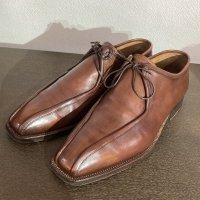 ステファノ・ビ Leather Shoes スワールトゥ 7サイズ(約26.0�サイズ)イタリア製<img class='new_mark_img2' src='https://img.shop-pro.jp/img/new/icons3.gif' style='border:none;display:inline;margin:0px;padding:0px;width:auto;' />
