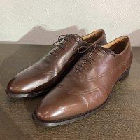 フラテッリ ジャコメッティ Leather Shoes 41ハーフサイズ(約26.5�サイズ)イタリア製<img class='new_mark_img2' src='https://img.shop-pro.jp/img/new/icons3.gif' style='border:none;display:inline;margin:0px;padding:0px;width:auto;' />