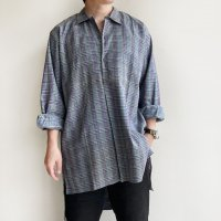 1950-1960's French Work Shirt  フランスのワークシャツ グランパシャツ<img class='new_mark_img2' src='https://img.shop-pro.jp/img/new/icons3.gif' style='border:none;display:inline;margin:0px;padding:0px;width:auto;' />
